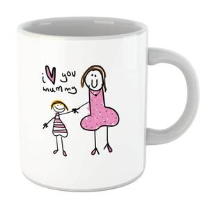 I Love You, Mummy Mug