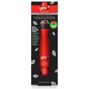 yes to Tomatoes Detoxifying Charcoal Spot Blemish Treatment 15ml - UK Exclusive