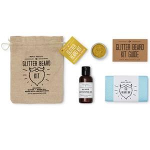 Men's Society The Glitter Beard Kit - Gold