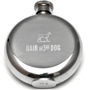Men's Society 'Hair Of The Dog' Hip Flask