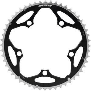 FSA Alloy Road Chainring (2 x 11, 130 x 53T, 5h, 12mm Pin)