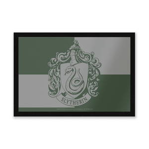 Harry Potter Slytherin Household Entrance Mat