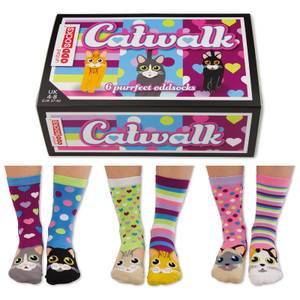 United Oddsocks Women's Catwalk Socks Gift Set (UK 4-8)