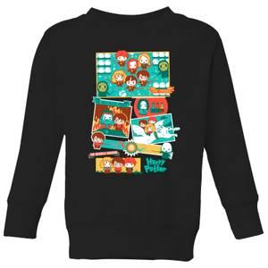 Harry Potter Kids Cute Films Kids' Sweatshirt - Black
