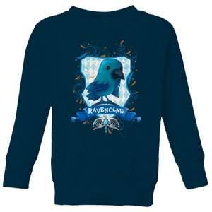 Harry Potter Kids Ravenclaw Crest Kids' Sweatshirt - Navy