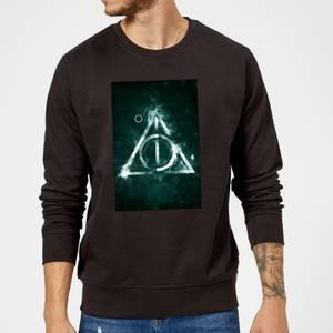 Harry Potter Hallows Painted Sweatshirt - Black
