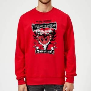 Harry Potter Triwizard Tournament Durmstrang Sweatshirt - Red