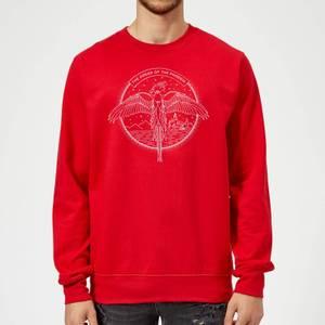 Harry Potter Order Of The Phoenix Sweatshirt - Red