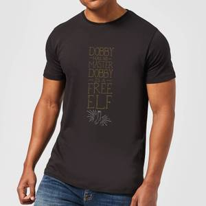 Harry Potter Dobby Is A Free Elf Men's T-Shirt - Black