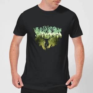 Harry Potter Patronus Lake Men's T-Shirt - Black