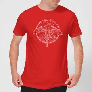 Harry Potter Order Of The Phoenix Men's T-Shirt - Red