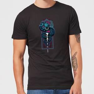 Harry Potter Nagini Neon Men's T-Shirt - Black