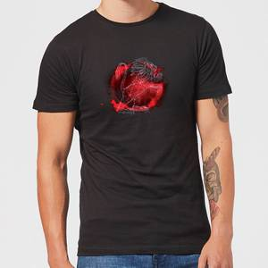 Harry Potter Gryffindor Geometric Men's T-Shirt - Black