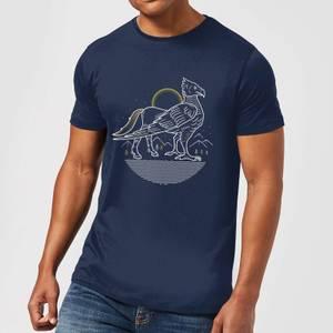 Harry Potter Buckbeak Men's T-Shirt - Navy