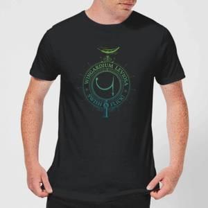Harry Potter Wingardium Leviosa Men's T-Shirt - Black