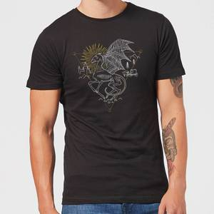 Harry Potter Thestral Men's T-Shirt - Black