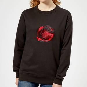 Harry Potter Gryffindor Geometric Women's Sweatshirt - Black