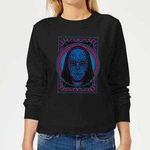 Harry Potter Death Mask Women's Sweatshirt - Black