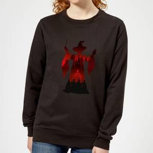 Harry Potter McGonagall Silhouette Women's Sweatshirt - Black