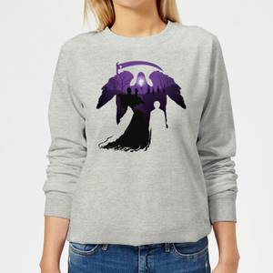 Harry Potter Gravestone Women's Sweatshirt - Grey