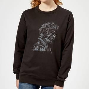 Harry Potter Harry Potter Head Women's Sweatshirt - Black