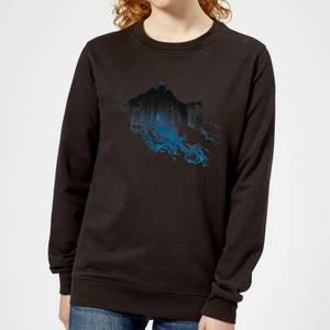 Harry Potter Dementor Silhouette Women's Sweatshirt - Black