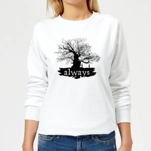Harry Potter Always Tree Women's Sweatshirt - White