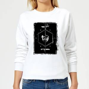 Harry Potter Harry Voldemort Wand Women's Sweatshirt - White