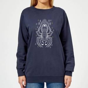 Harry Potter Aragog Women's Sweatshirt - Navy