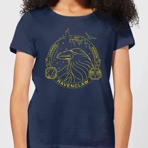 Harry Potter Ravenclaw Raven Badge Women's T-Shirt - Navy