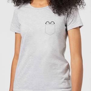 T-Shirt Harry Potter Harry Potter Pocket Glasses - Grigio - Donna