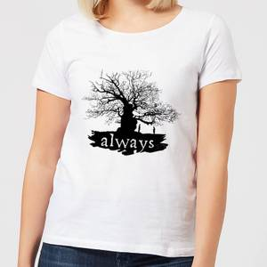 Harry Potter Always Tree Women's T-Shirt - White