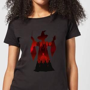 Harry Potter McGonagall Silhouette Women's T-Shirt - Black