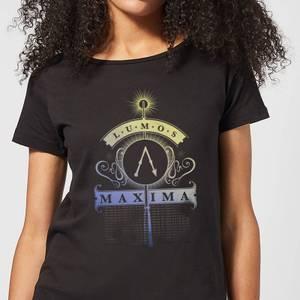 Harry Potter Lumos Maxima Women's T-Shirt - Black