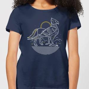 Harry Potter Buckbeak Women's T-Shirt - Navy