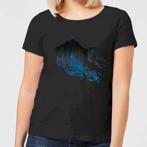 Harry Potter Dementor Silhouette Women's T-Shirt - Black