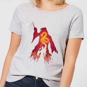 Harry Potter Dumbledore Voldemort Women's T-Shirt - Grey