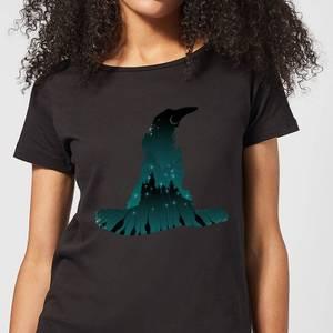 Harry Potter Sorting Hat Silhouette Women's T-Shirt - Black