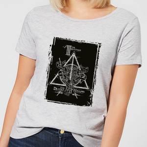 T-Shirt Harry Potter Three Brothers - Grigio - Donna