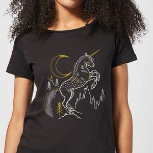 Harry Potter Unicorn Women's T-Shirt - Black