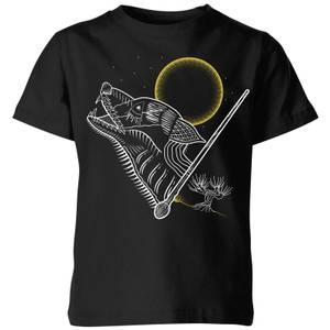 Harry Potter Lupin Kids' T-Shirt - Black