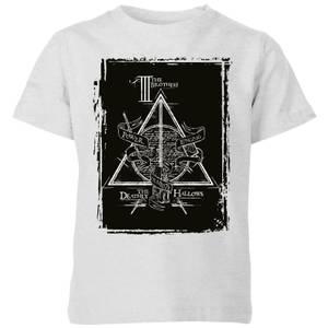 Harry Potter Three Brothers Kids' T-Shirt - Grey