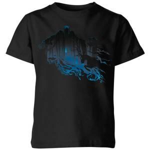 Harry Potter Dementor Silhouette Kids' T-Shirt - Black
