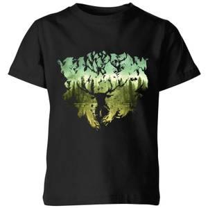 Harry Potter Patronus Lake Kids' T-Shirt - Black