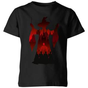 Harry Potter McGonagall Silhouette Kids' T-Shirt - Black