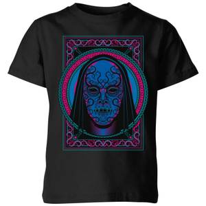 Harry Potter Death Mask Kids' T-Shirt - Black