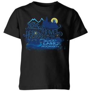 Harry Potter First Years Kids' T-Shirt - Black