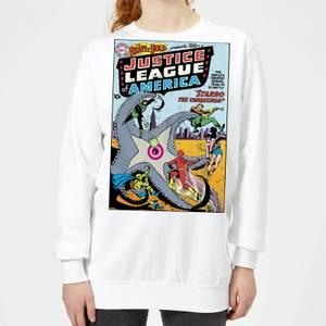Justice League Starro The Conqueror Cover Women's Sweatshirt - White