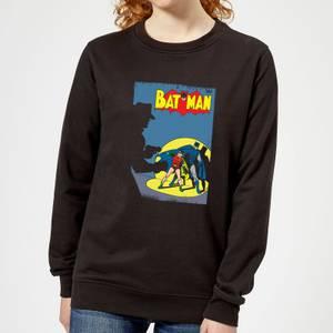 Batman Batman Cover Women's Sweatshirt - Black