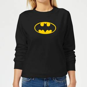 Justice League Batman Logo Women's Sweatshirt - Black